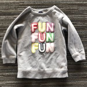 Baby Gap fun fun fun tunic